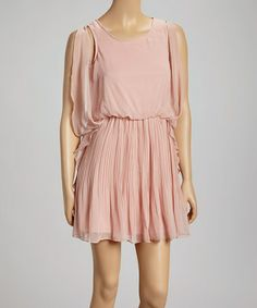 Look what I found on #zulily! Pink Ruffle Dress by Love Point #zulilyfinds