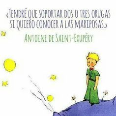 """El principito"" Words Quotes, Wise Words, Me Quotes, Sayings, Great Quotes, Inspirational Quotes, Dream Book, The Little Prince, More Than Words"