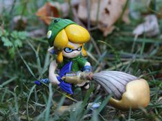 Custom 'Linkling' Amiibo  Legend of Zelda & Splatoon