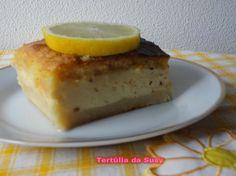 Bolo mágico de baunilha e limão | Tertúlia da Susy