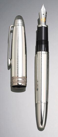 I may have scruffy handwriting but I still would love a Mont Blanc fountain pen