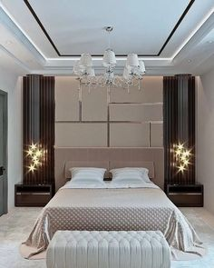 28 Luxury Bedding Ideas For Your Master Bedroom That Will Make You Comfortable 28 Luxury Bedding Ideas For Your Master Bedroom That Will Make You Comfortable Jettie Henness Bedroom Ideas 28 Luxury nbsp hellip master bedroom videos Modern Luxury Bedroom, Luxury Bedroom Design, Bedroom Furniture Design, Home Room Design, Master Bedroom Design, Contemporary Bedroom, Luxurious Bedrooms, Bedroom Decor, Bedroom Ideas