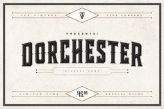 Dorchester Display Font (SALE)