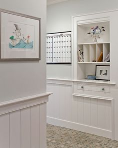 Boston architect David Sharff used wainscoting very effectively in the bright and airy way with his Waldon Court Home project.