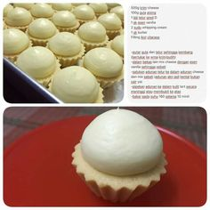 Tart montok T Pastry Recipes, Cookie Recipes, Dessert Recipes, Egg Tart, Fruit Tart, Japanese Cheesecake Recipes, Cream Puff Recipe, Cheese Tarts, Asian Desserts