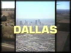 Dallas - Who shot JR?  The Ewings - JR, Bobby, Sue Ellen, Cliff....