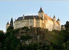 Schloss Rosenburg im Kamptal, Niederösterreich, Österreich