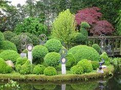 round feng shui garden - Google Search