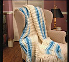 Peruvian Crochet Afghan Pattern