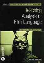 """A well-organised guide to teaching film language, with examples from Hollywood, independent, British and World cinemas. Designed to be accessible to those who are new to Film or Media Studies, this book will also be very useful to more experienced practitioners. It centres on a concise account of key ideas in film analysis at the 'macro' level (narrative, genre, representation) and 'micro' level (cinematography, editing, sound). Media Studies, Film Studies, Teaching Art, Teaching Resources, Teaching Ideas, Film Genres, Study Design, Classic Films, Art School"