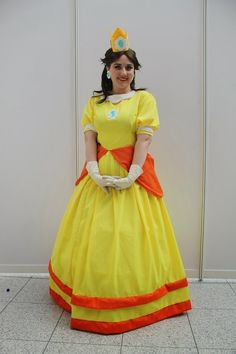 Fancy Dresscapades: Cosplay: Luigi and Princess Daisy from the Super Mario Franchise