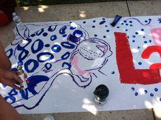 Lafayette olympics banner