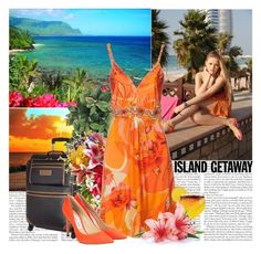 """""""Hawaii"""" by polybaby ❤ liked on Polyvore featuring Tommy Hilfiger, Blumarine, Jimmy Choo and islandgetaway"""