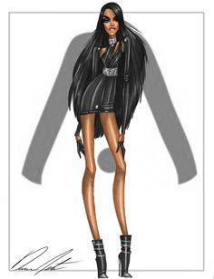 Aaliyah Collection, Look .2 by Daren J
