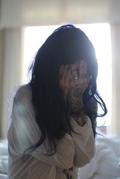 Kat von D. This is very me of morning