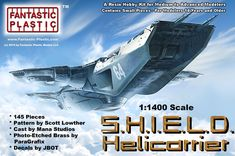 SHIELD Helicarrier Box Art | New Kit