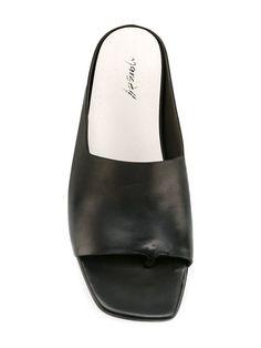 Shop Marsèll open toe slip-on sandals.