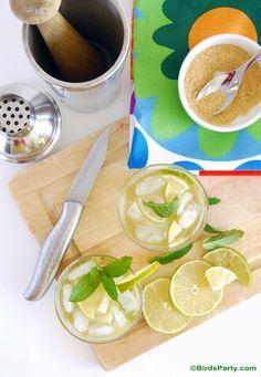 Tequila Caipirinha Cocktail  Recipe