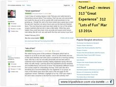 """Chef LeeZ reviews 313 Great Experience"""" 312 """"Lot's of Fun"""" Clipped from www.tripadvisor.com"""