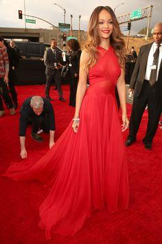 Fashion At The 2013 #Grammy Awards, #rihanna