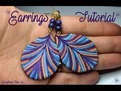 Hello my dear followers:* I made some interesting jewelry set two weeks ago and a few of you asked me to make a tutorial :D I really hope that you will like this project Kiss you all and see you next weekend :*:* Kevin MacLeod ( ... ) Licensed. Earrings, Clay, Ring, Polymer,