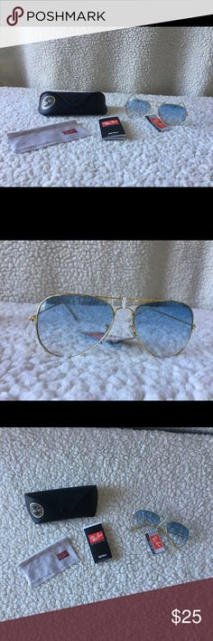 Great generic ray ban aviator New never been worn, comes with all accessories. Ray-Ban Accessories Sunglasses