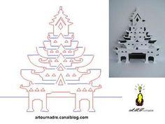 ARTicle pagode kirigami