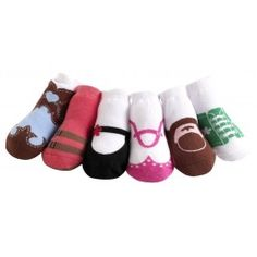 "des chaussettes ""trompe l'oeil"" - trop mimi ...  ;-)    http://gaspardetgala.fr/1393-2657-thickbox/variety-original-girls-jazzy-toes.jpg"