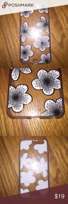 """Sonix """"Delphine"""" iPhone 6 Plus case Great condition. Clear case with frosted bumper and flowers that fully protects your phone. Sonix Accessories Phone Cases"""