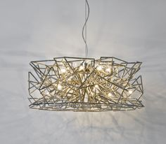 Etoile... love the shadow effect this chandelier casts
