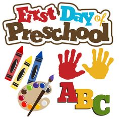 PPbN Designs - First Day of Preschool (40% off for Members), $0.75 (http://www.ppbndesigns.com/first-day-of-preschool/)