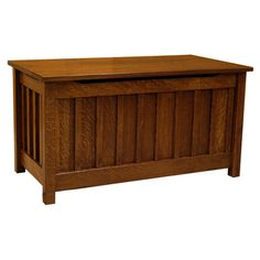 This Toy Box is handmade in the Heartland of America by the Amish Craftsmen and it is built using Quarter Sawn White Oak (shown). This toy box is perfect for storing away your child's toys and blankets, as well. In addition, this piece will come in handy when keeping your child's room well-organized and clean and it is built to last for generations.