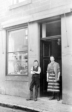 Old photograph of Butchers Shop in Perth, Perthshire, Scotland Old Photographs, Old Photos, Scotland People, Candid Photography, Street Photography, Scotland Culture, Perth Scotland, Scottish People, Shopping Meme