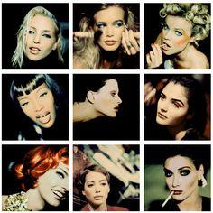 Nadja, Claudia, Eva, Naomi, Kristen, Helena, Linda, Christy & Carla  , great! But not the smoking!