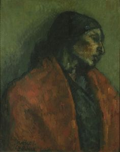 Paloma / Isidre Nonell / 1904 / oil on cardboard / MNAC