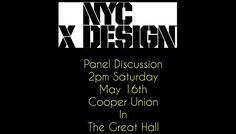 Panel Discussion: Mural Art in Public Spaces present by LISA Project and NYCxDesign - http://art-nerd.com/newyork/panel-discussion-mural-art-in-public-spaces-present-by-lisa-project-and-nycxdesign/