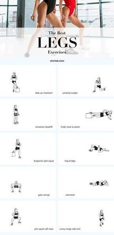 The best leg exercises | Posted By: CustomWeightLossProgram.com