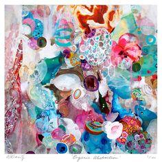 Organic Abstraction - Art Print by Amanda Krantz on THEHOME.COM.AU