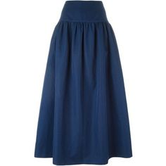 Sonia Rykiel flared long skirt