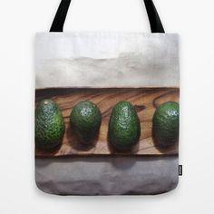 Avocado Love Tote Bag by The Avant-Garden | Society6