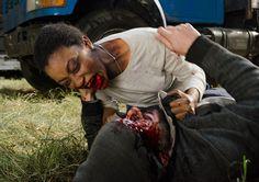 The Walking Dead Season 7 Episodic Photos - Sasha (Sonequa Martin-Green) in Episode 16 Photo by Gene Page/AMC