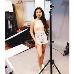 Nadine Lustre Nadine Lustre Ootd, Nadine Lustre Fashion, Filipina Actress, Hey Gorgeous, Jadine, White Shorts, Mini Skirts, Two Piece Skirt Set, Actresses