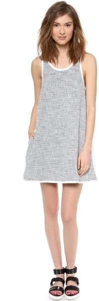 Autograph Addison Roxy Oversized Pocket Swing Dress - super modern and adorable!