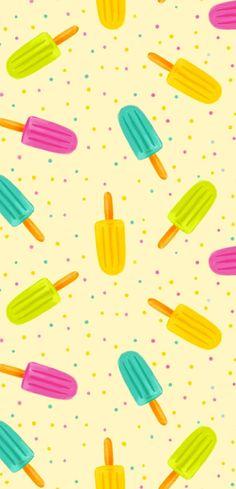 wandideen kinderzimmer wandgestaltung ideen mustertapeten eis am stiel