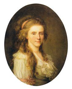 1780 Augusta Louise zu Stolberg-Stolberg by Jens Juel