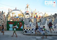 Fusterlandia: a rare mix between a museum and a theme park in #Havana, #Cuba