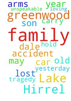 Please pray for the Hirrel family of Greenwood Lake - Please pray for the Hirrel family of Greenwood Lake who lost their 16-year old son, Dale, in a car accident yesterday, 4/30/16.  May the Lord hold this family in his loving arms and carry them through this unspeakable tragedy.  Posted at: https://prayerrequest.com/t/atR #pray #prayer #request #prayerrequest