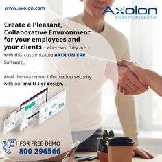 Build Custom ERP For Your Business. Get Free Demo Now! For more details, you can visit our website www.AxolonERP.com or call us at our toll-free number ☎ 800296566. #ERPSoftware #ERPSolution #ERPServices #ERP #EnterpriseResourcePlanning #CustomizedERP #Axolon #AxolonERP #BusinessERP #Automation #ERPSoftwareDubai #ERPSolutionDubai #ERPSoftwareUAE #ERPSolutionUAE #ERPSoftwareOman #ERPSolutionOman