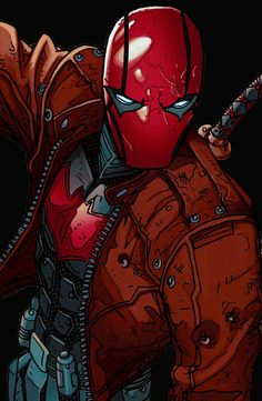 Red Hood Comic, Red Hood Dc, Batman Red Hood, Arte Dc Comics, Marvel Comics, Anime Comics, Gotham Batman, Batman Art, Batman Robin