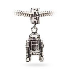 Star Wars R2D2 Dangle Charm Bead